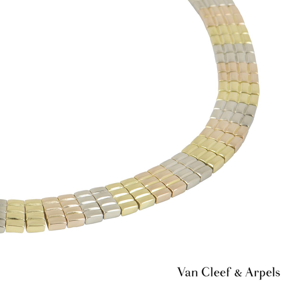 Van Cleef & Arpels Tri-Colour Necklace